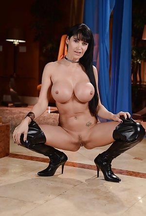 Big Tits in Boots Pictures