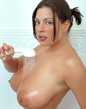 Big Tits in Shower Pictures