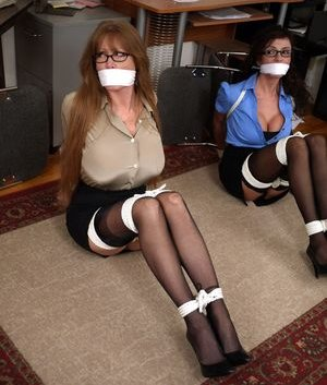 Big Tits in Office Pictures